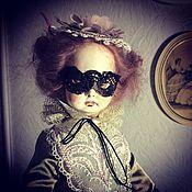 Куклы и игрушки ручной работы. Ярмарка Мастеров - ручная работа Старый театр. Пьеретта в маске.. Handmade.