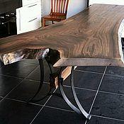 Столы ручной работы. Ярмарка Мастеров - ручная работа Стол из слэба ореха. Handmade.