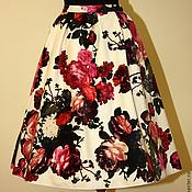 Одежда ручной работы. Ярмарка Мастеров - ручная работа Плюшевая юбка. Handmade.