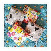 Подушки ручной работы. Ярмарка Мастеров - ручная работа Текстильная подушка набитая можжевеловыми опилками. Handmade.