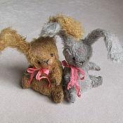 Куклы и игрушки ручной работы. Ярмарка Мастеров - ручная работа Карманные зайки. Handmade.