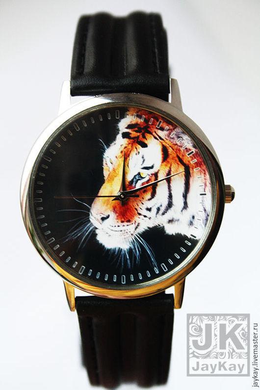 """Часы ручной работы. Ярмарка Мастеров - ручная работа. Купить Часы наручные JK """"Тигр"""". Handmade. Часы, часы наручные"""