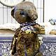 Мишки Тедди ручной работы. Ярмарка Мастеров - ручная работа. Купить Плюшевый медведь Артту. Handmade. Коричневый, плюш винтажный
