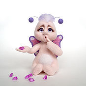 Куклы и игрушки ручной работы. Ярмарка Мастеров - ручная работа Фея, феечка, волшебница. Валяная игрушка из шерсти.. Handmade.
