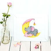 Дизайн ручной работы. Ярмарка Мастеров - ручная работа Готовый логотип и визитки для магазина детских товаров. Handmade.