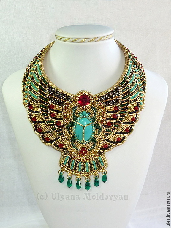 Necklace Quot Egyptian Goddess Quot Shop Online On Livemaster