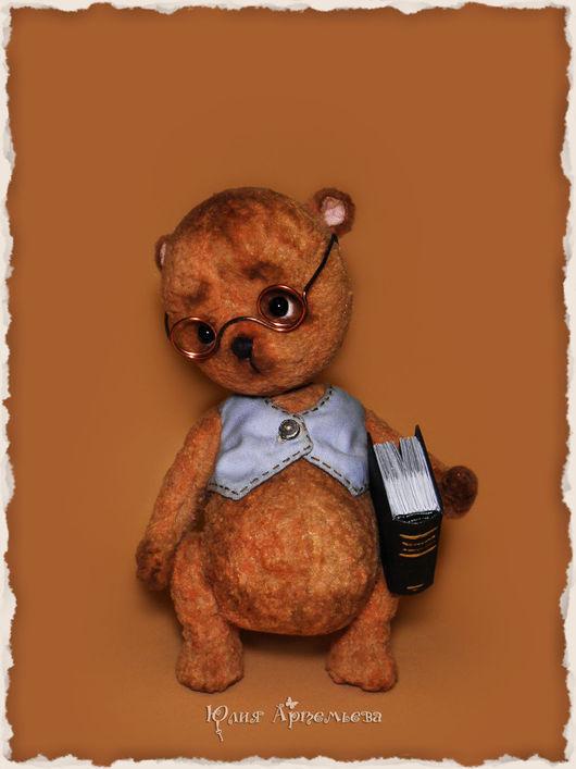 Мишки Тедди ручной работы. Ярмарка Мастеров - ручная работа. Купить Мишка тедди Сёма. Handmade. Коричневый, авторская игрушка