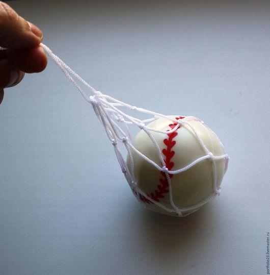 Куклы и игрушки ручной работы. Ярмарка Мастеров - ручная работа. Купить Мяч для куклы 6 см. Handmade. Чёрно-белый