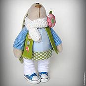 Куклы и игрушки ручной работы. Ярмарка Мастеров - ручная работа Весенняя зайка. Handmade.