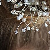 Свадебный салон ручной работы. Ярмарка Мастеров - ручная работа Свадебный гребень с кристаллами Сваровски. Handmade.