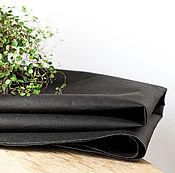 """Ткани ручной работы. Ярмарка Мастеров - ручная работа Произведено в Германии! Моющаяся крафт-бумага """"Крэш"""", черная. Handmade."""