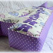 Подушки ручной работы. Ярмарка Мастеров - ручная работа Буква-подушка 50 см, именная. Handmade.