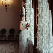 Свадебный салон handmade. Livemaster - original item Knitted wedding dress