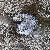 """Украшения ручной работы. Ярмарка Мастеров - ручная работа Брошь """"Жук Снежок"""". Handmade."""