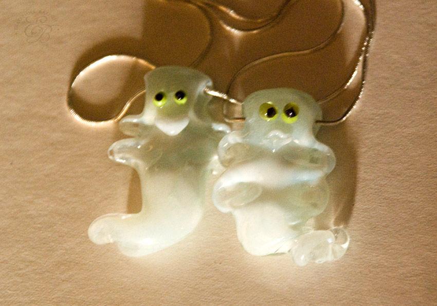 Glowing 'Ghost - wild, but cute': suspension, Pendants, St. Petersburg,  Фото №1