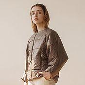 Одежда handmade. Livemaster - original item Milkgrazia insulated bomber. Handmade.