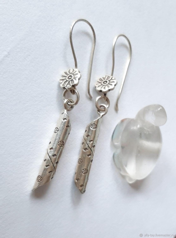 Tube earrings, Earrings, Pyatigorsk,  Фото №1