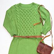 Одежда ручной работы. Ярмарка Мастеров - ручная работа Платье из хлопка. Handmade.