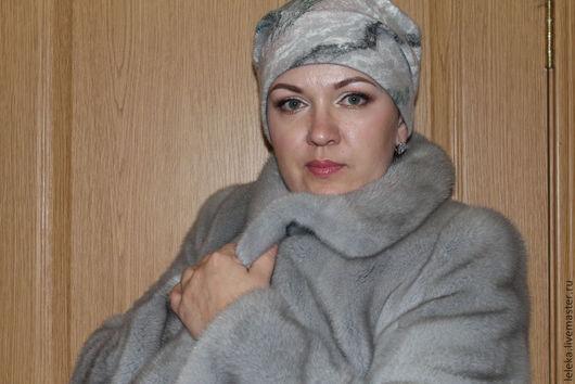 """Шапки ручной работы. Ярмарка Мастеров - ручная работа. Купить шапочка """"утро туманное""""2. Handmade. Шапка женская, волокна вискозы"""