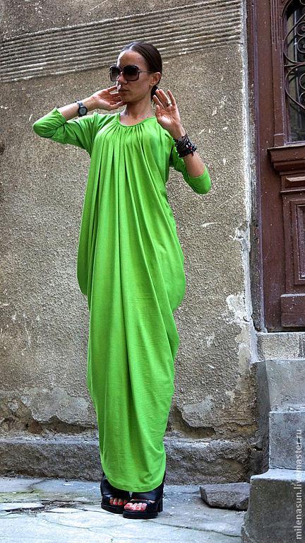 платье, длинное платье, платье в пол, летнее платье, красивое платье, яркое платье Ярмарка Мастеров