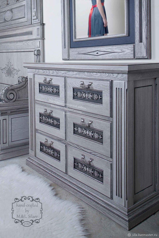 "Комод ""Символ эпохи"" из массива дуба. Мебель из дерева, Комоды, Дубна,  Фото №1"
