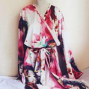 Одежда ручной работы. Ярмарка Мастеров - ручная работа Халат-кимоно. Handmade.
