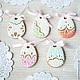 Gingerbread Easter Filigrane. Gingerbread Cookies Set. prynik. Online shopping on My Livemaster.  Фото №2