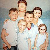 Картины и панно handmade. Livemaster - original item Family portrait.. Handmade.