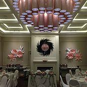 Свадебный салон ручной работы. Ярмарка Мастеров - ручная работа Цветы из бумаги для декора стен. Handmade.