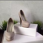 Обувь ручной работы. Ярмарка Мастеров - ручная работа Лодочки из натуральной кожи. Handmade.