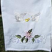 Свадебный салон ручной работы. Ярмарка Мастеров - ручная работа Свадебный рушник. Handmade.
