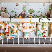 Куклы и игрушки ручной работы. Ярмарка Мастеров - ручная работа Именные буквы подушки. Handmade.