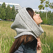 Hoods handmade. Livemaster - original item Hat hood. Handmade.