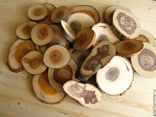 Другие виды рукоделия ручной работы. Ярмарка Мастеров - ручная работа. Купить Спилы дерева 2. Handmade. Спил дерева