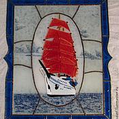 Для дома и интерьера handmade. Livemaster - original item Panels of glass