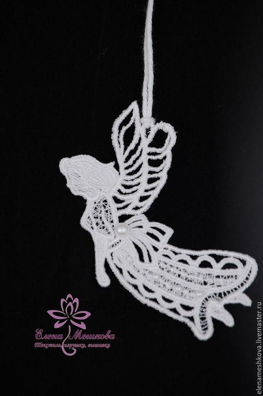 Подарки на Пасху ручной работы. Ярмарка Мастеров - ручная работа. Купить Ангел летящий. Handmade. Ангел, Пасха, кружевной