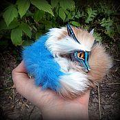Куклы и игрушки ручной работы. Ярмарка Мастеров - ручная работа Голубой флинч. Handmade.