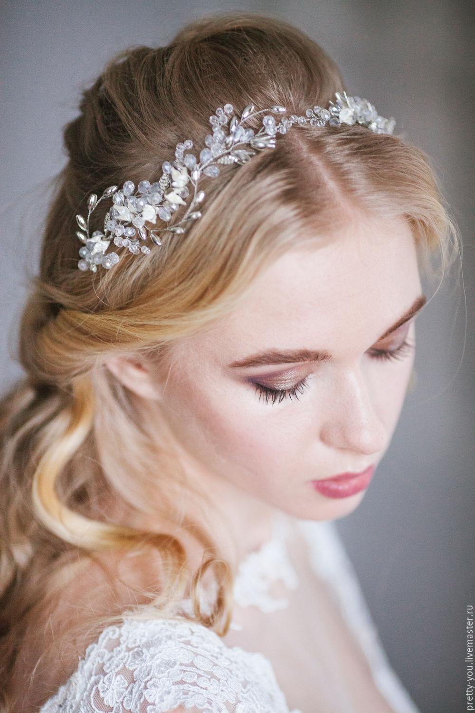 Украшение для невесты для волос 86