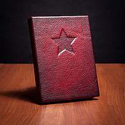 Канцелярские товары handmade. Livemaster - original item Winter soldier Winter Soldier Notebook Sketchbooks with Hydra CODE. Handmade.