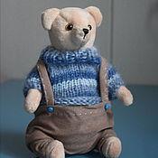 Куклы и игрушки ручной работы. Ярмарка Мастеров - ручная работа В меру упитанный Мишка. Тедди.. Handmade.