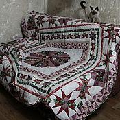 Для дома и интерьера ручной работы. Ярмарка Мастеров - ручная работа Лоскутное одеяло БлагоДар. Handmade.