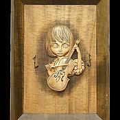 """Картины и панно ручной работы. Ярмарка Мастеров - ручная работа Картина из дерева """"Музыка души"""". Handmade."""