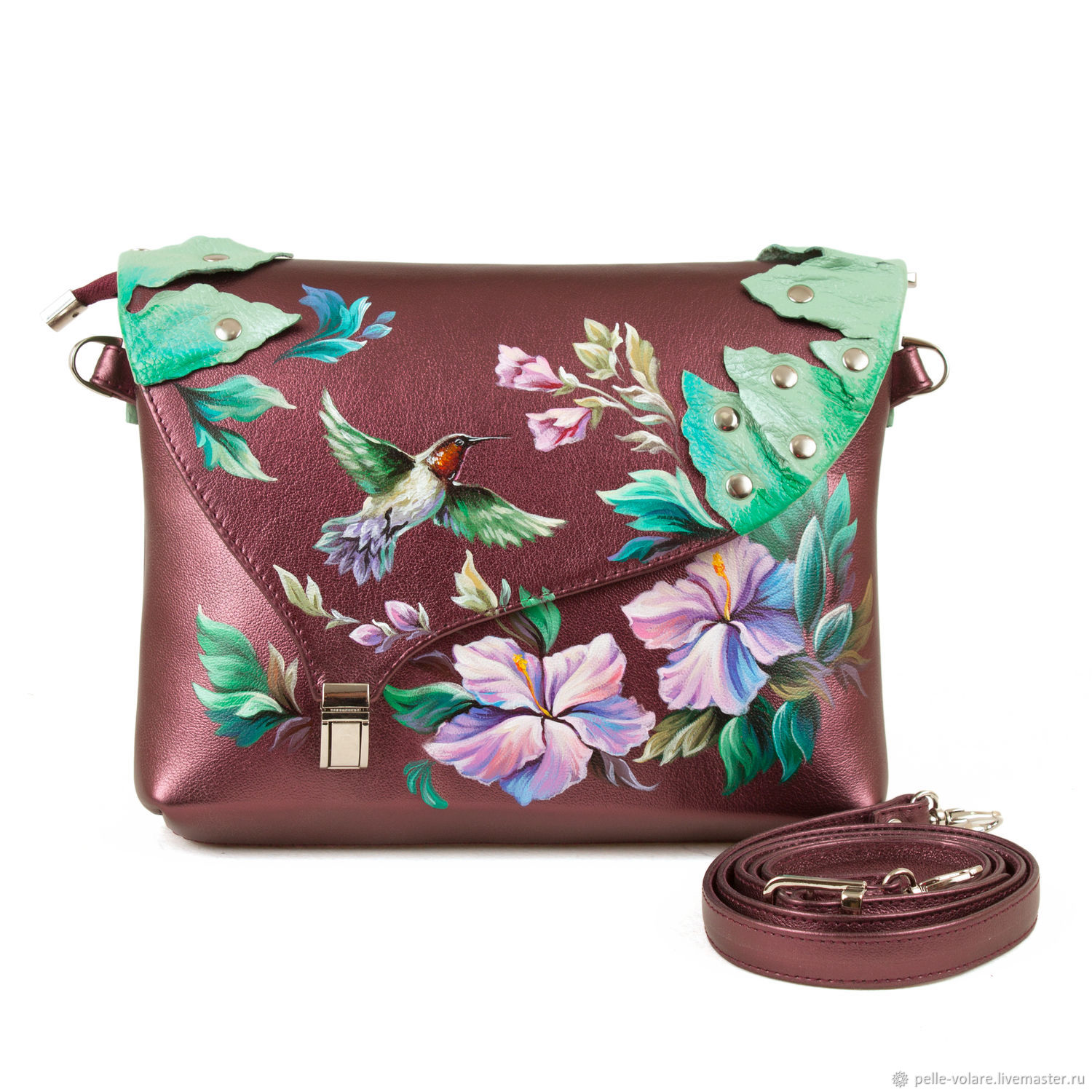 Bag-Clutch 'Spring', Clutches, St. Petersburg,  Фото №1