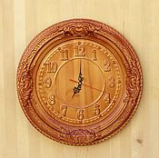 Для дома и интерьера handmade. Livemaster - original item Round wall clock for home No. №2.. Handmade.