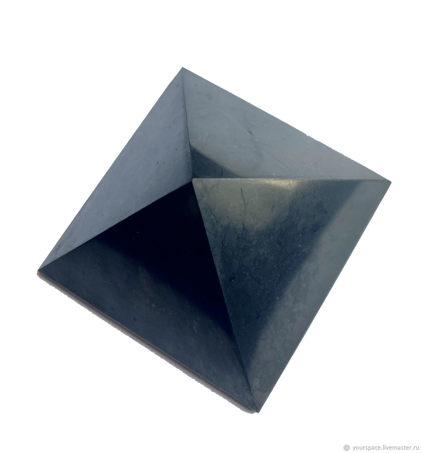 Pyramid polished from shungite 5 cm, Stones, St. Petersburg,  Фото №1