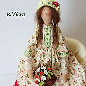 Куклы и игрушки ручной работы. Ярмарка Мастеров - ручная работа Тильда Малинка в стиле Бохо. Handmade.