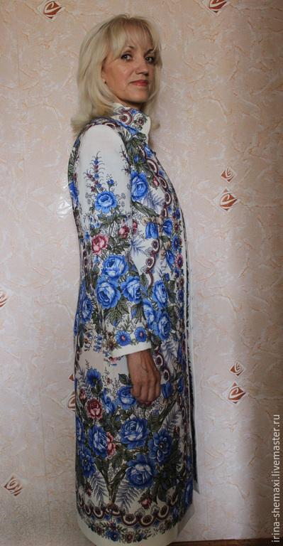 Верхняя одежда ручной работы. Ярмарка Мастеров - ручная работа. Купить Летнее пальто Весеннее утро. Handmade. Белый