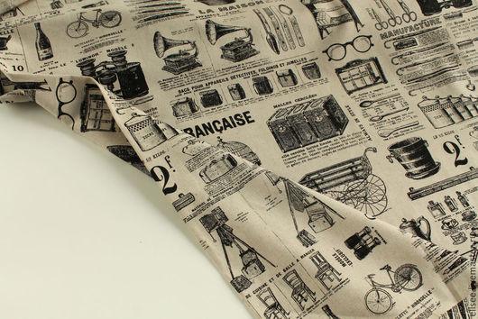 """Шитье ручной работы. Ярмарка Мастеров - ручная работа. Купить Лен  """"Винтаж"""". Handmade. Ткани, лен, винтажный"""
