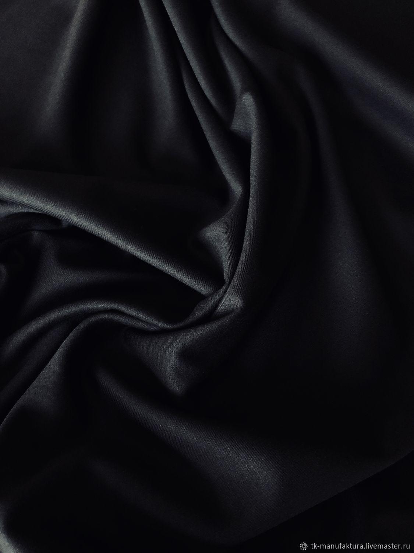 78bacc3da1121 Шитье ручной работы. Ярмарка Мастеров - ручная работа. Купить Джерси  черное. Handmade.
