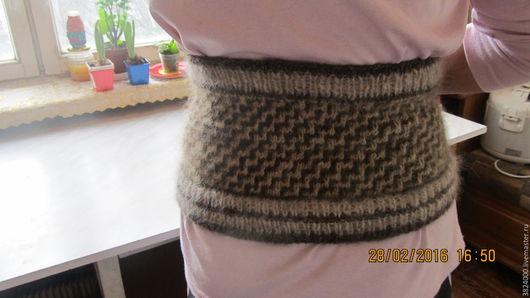 Пояса, ремни ручной работы. Ярмарка Мастеров - ручная работа. Купить Пояс- полотно  из собачьей шерсти № 90/16. Handmade.